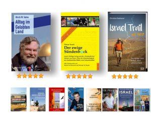 Empfohlene Israelbücher