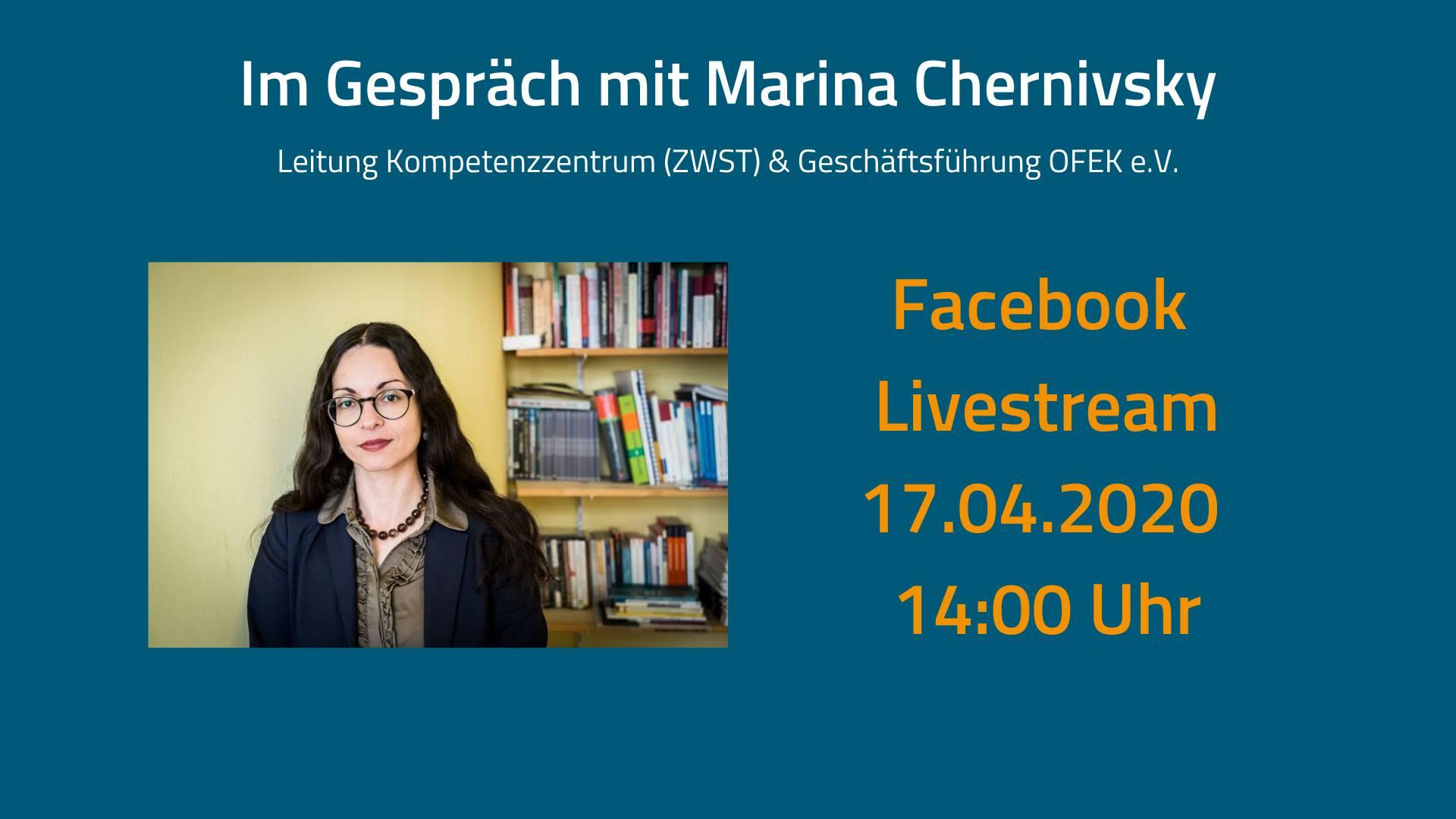 Im Gespräch mit Marina Chernivsky