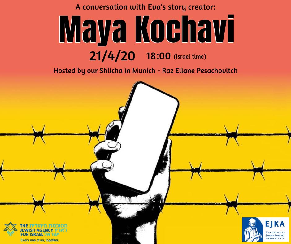 """Gespräch mit Maya Kochavi, Begründerin von """"Eva`s Story"""""""