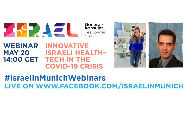 Webinar: Innovative Israeli health-tech in the Covid-19 crisis