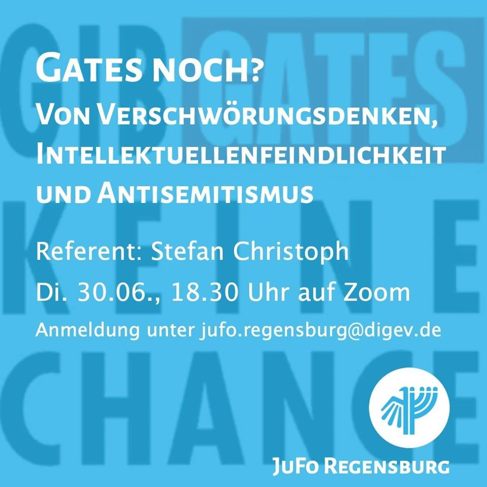 Christoph - Gates noch? Verschwörungsdenken und Antisemitismus