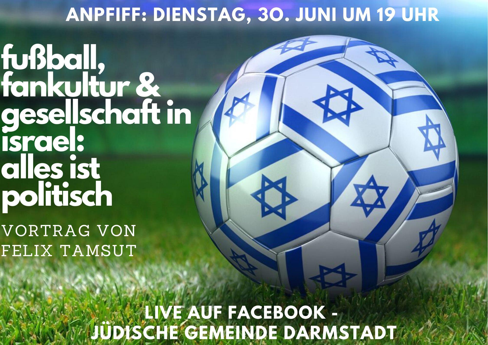 Fußball, Fankultur und Gesellschaft in Israel - LIVE @Facebook
