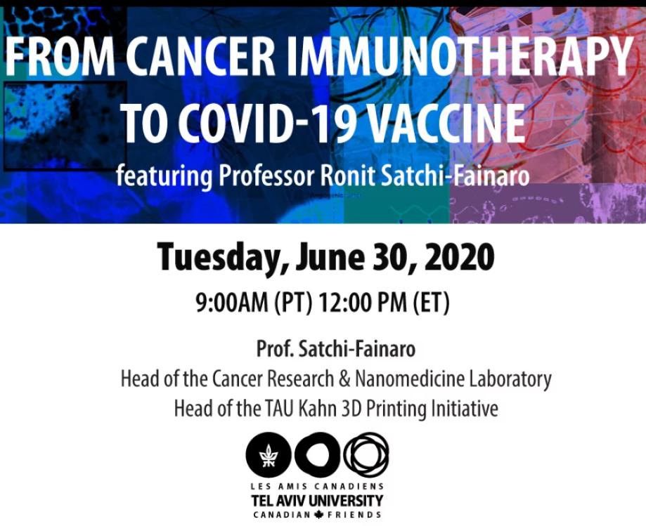 Covid-Impfstoff dank Melanom-Forschung? - From Cancer Immunotherapy to Covid-19 Vaccine.