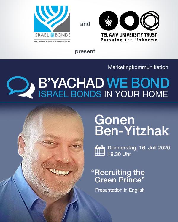 """Einladung zur Online-Veranstaltung """"Recruiting the Green Prince"""""""