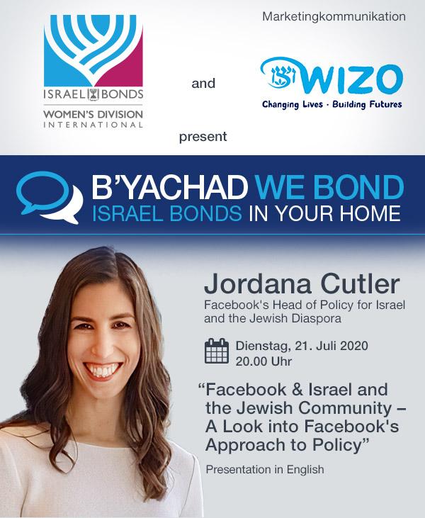 Einladung Online-Veranstaltung mit Jordana Cutler von Facebook