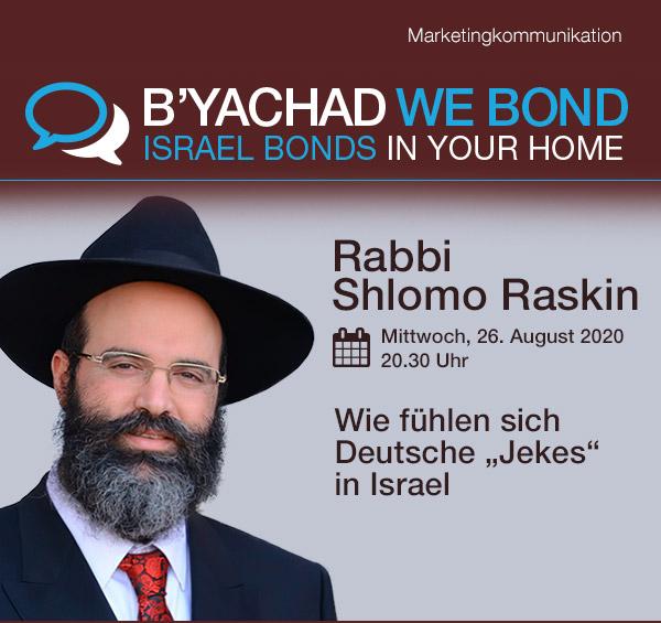 """Wie fühlen sich Deutsche """"Jekes"""" in Israel"""