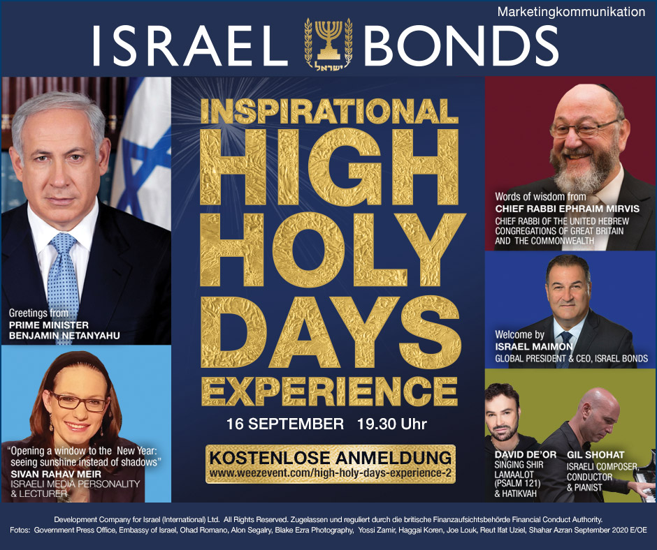 Inspirational High Holy Days Experience