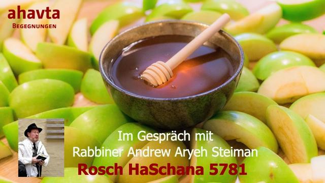 Rosch HaSchana 5781. Im Gespräch mit Rabbiner Andrew Steiman