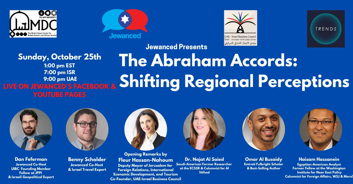 Jewanced Presents: The Abraham Accords - Shifting Regional Perceptions