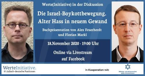 Werte(initiative) in der Diskussion: Die Israel-Boykottbewegung. Alter Hass in neuem Gewand.