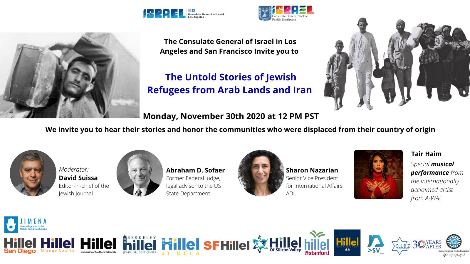 The Untold Stories of Jewish Refugees from Arab Lands and Iran