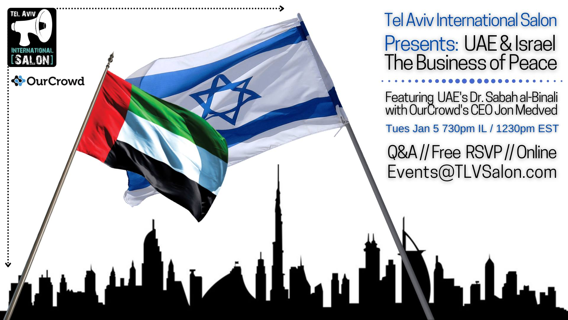 TLV Salon: UAE & Israel - The Business of Peace