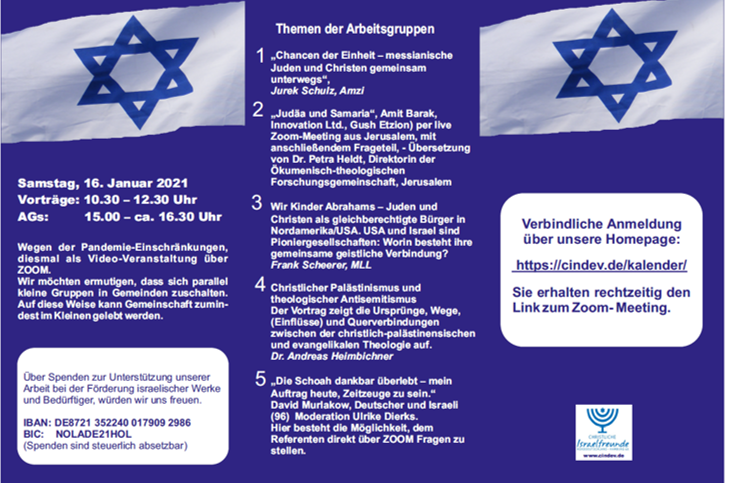 10. Treffen Christl. Israel Freunde Norddeutschland