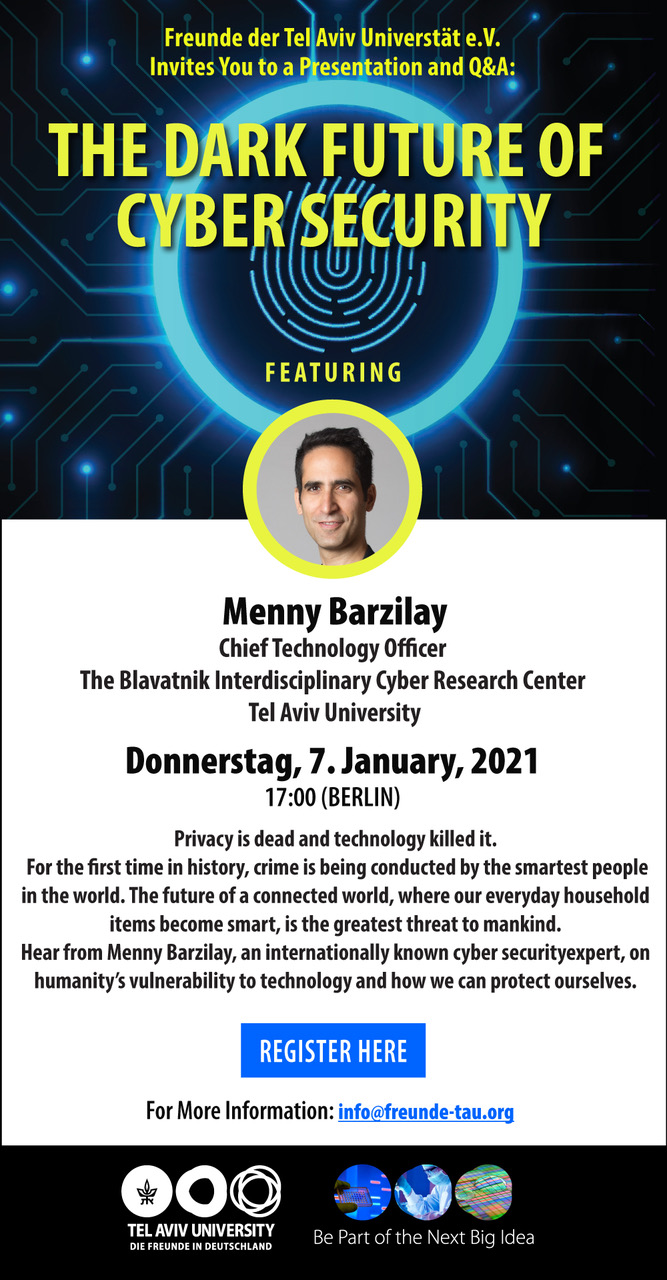 The Dark Future of Cyber Security - Online Event