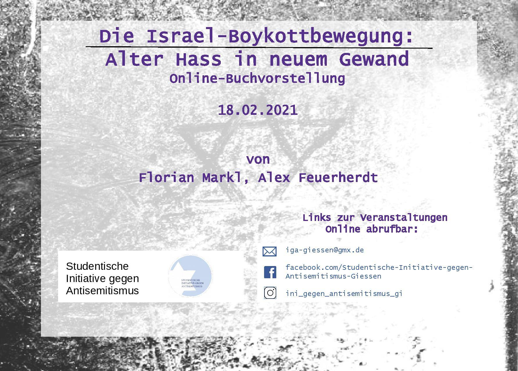 Die Israel-Boykottbewegung: Alter Hass in neuem Gewand