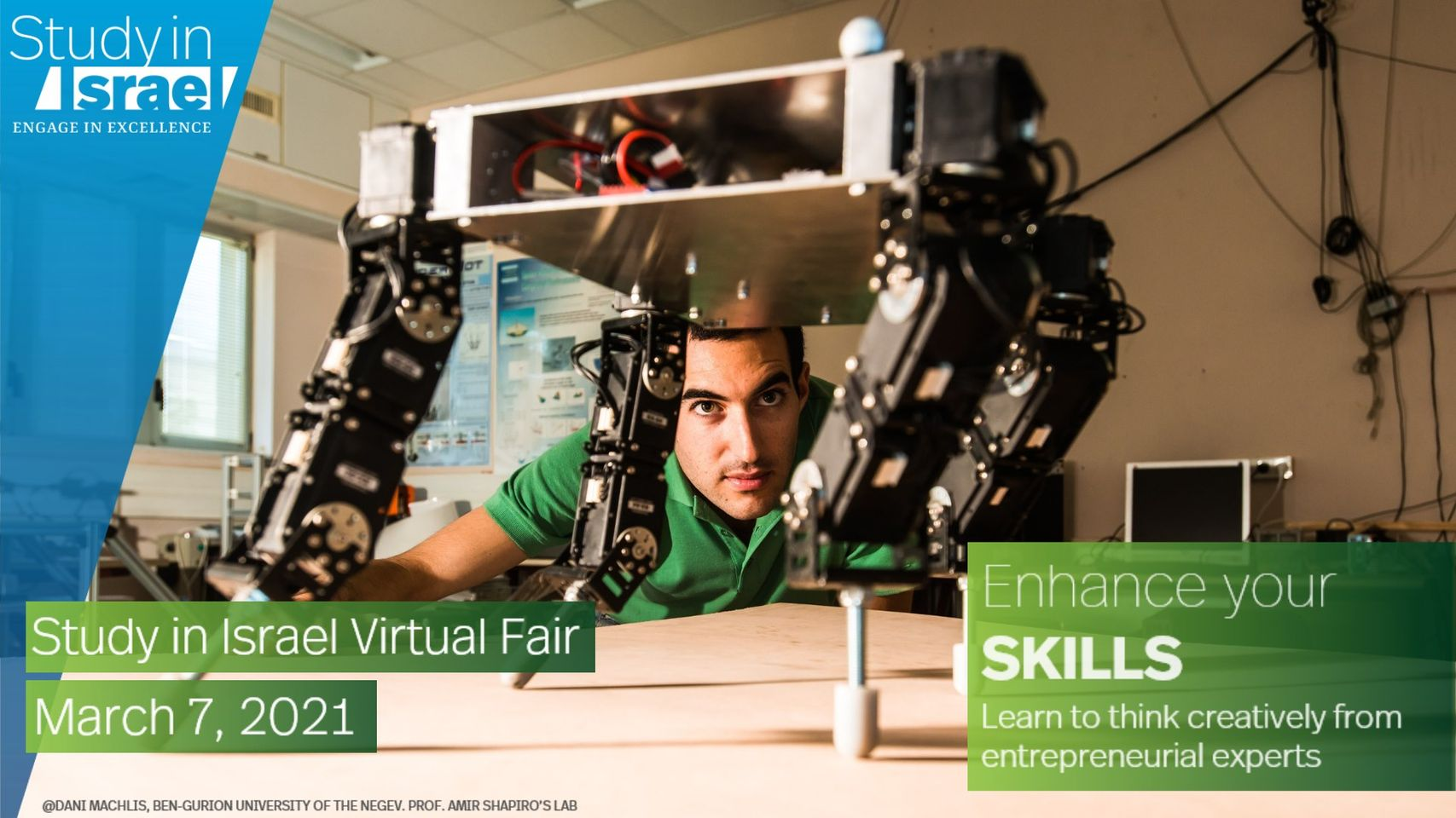 Study in Israel Virtual Fair