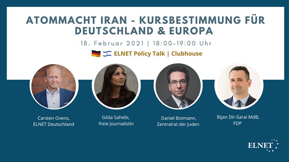 Atommacht Iran - Kursbestimmung für Deutschland & Europa