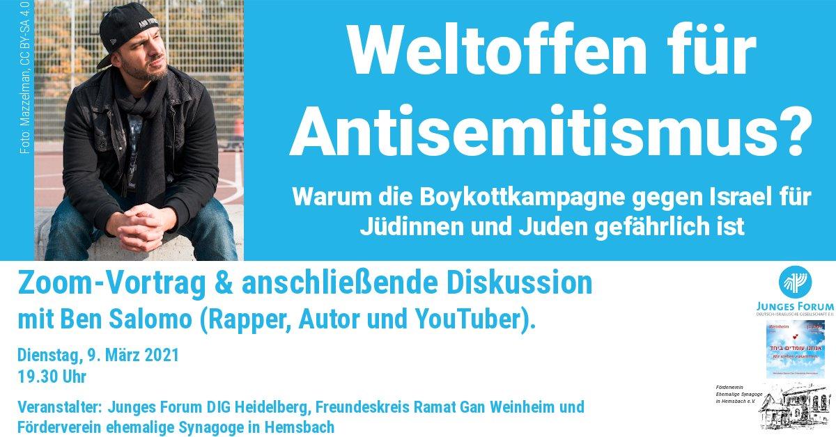 Weltoffen für Antisemitismus?