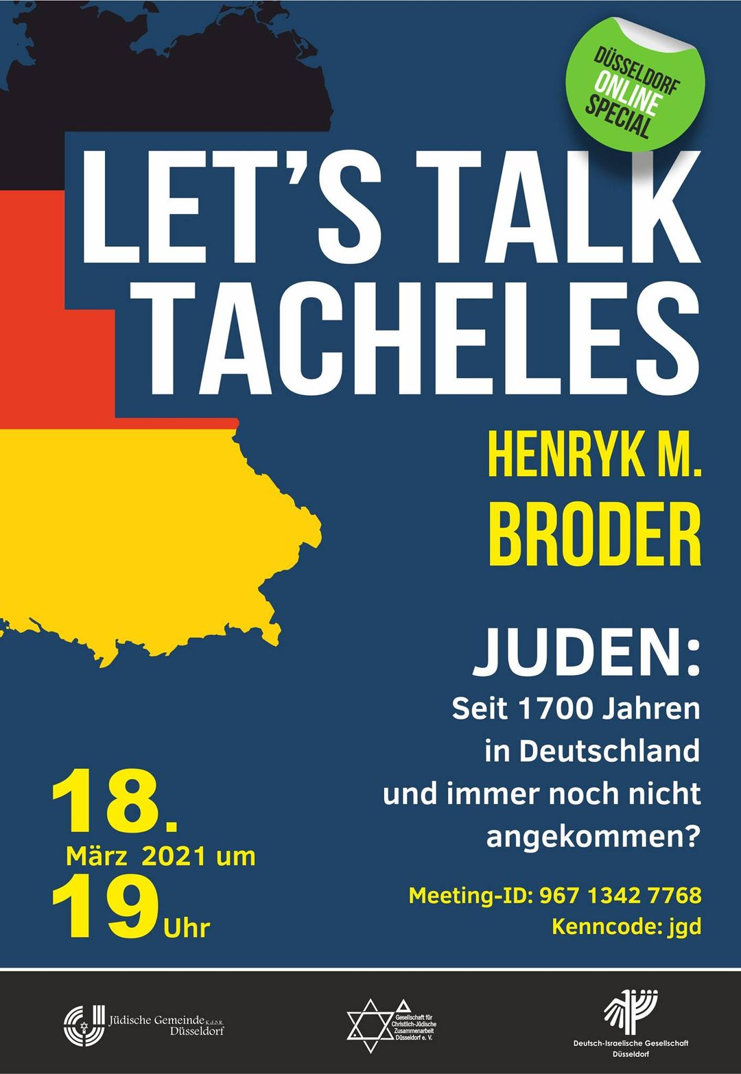 """Henryk Broder: """"Juden: Seit 1700 Jahren in Deutschland und immer noch nicht angekommen?"""""""
