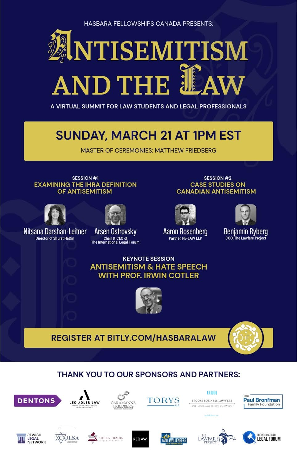 Antisemitism and the Law