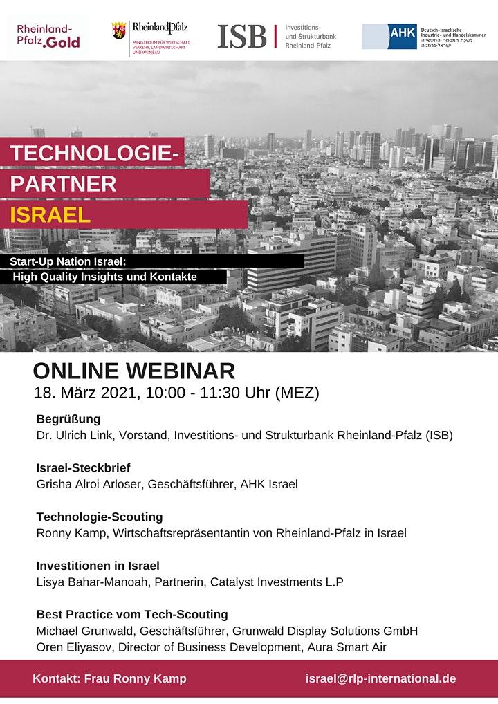 Technologie-Partner Israel - Start-Up Nation Israel: High Quality Insights und Kontakte