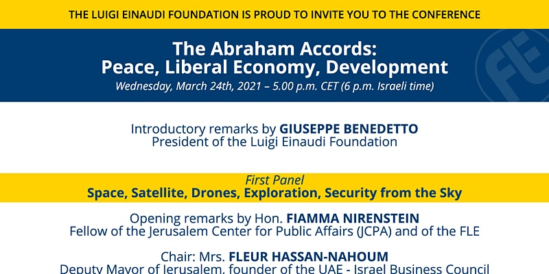 The Abraham Accords: Peace, Liberal Economy, Development