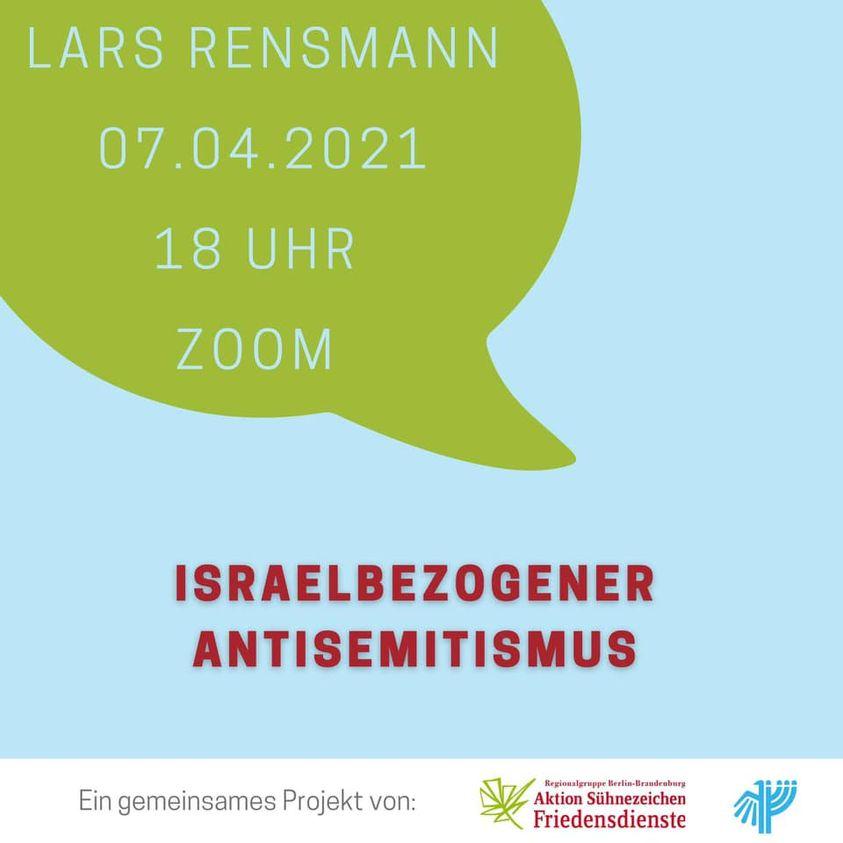 Lars Rensmann: Israelbezogener Antisemitismus