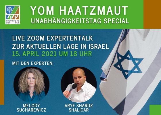 Yom HaAtzmaut Special - Expertentalk mit Arye Sharuz Shalicar & Melody Sucharewicz