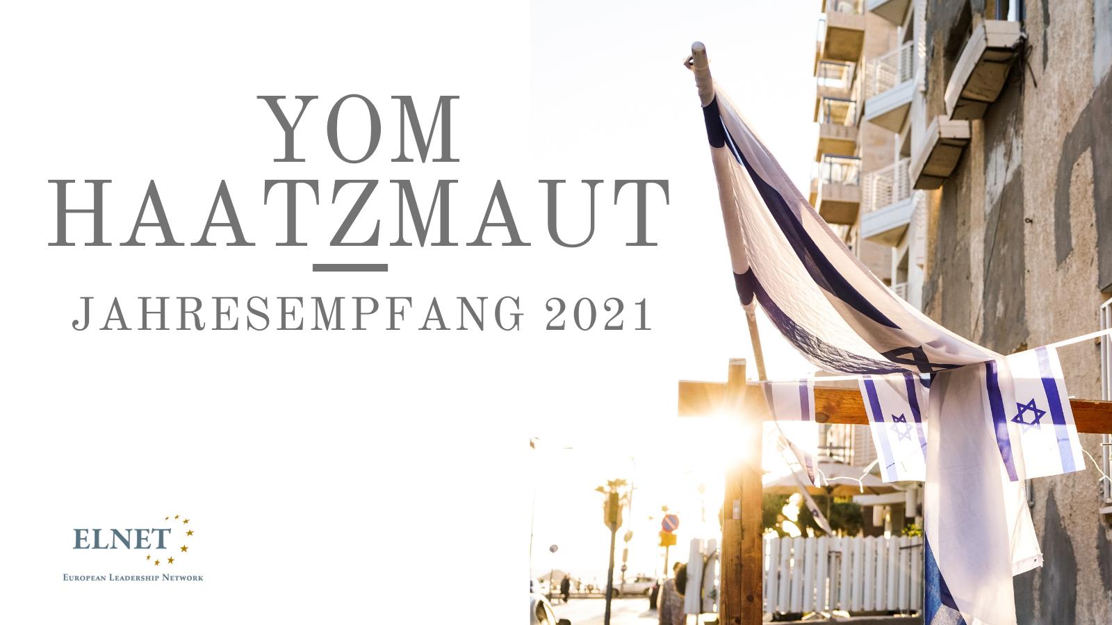 ELNET Yom Haatzmaut Empfang 2021