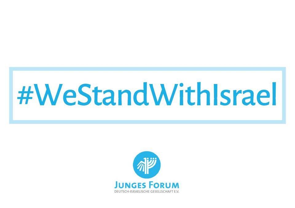 Frankfurt/M. (Hauptwache): Solidarität mit Israel - Gegen antisemitischen Terror