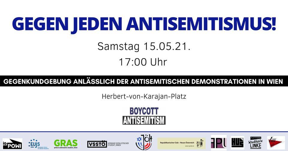 Wien: Gegen jeden Antisemitismus!