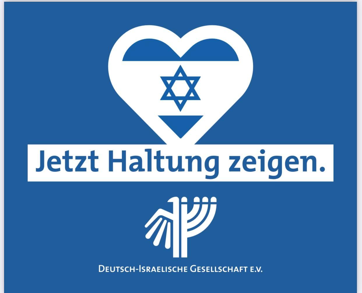 Saarbrücken: Kundgebung gegen antisemitische Hetze und den Terror gegen die Zivilbevölkerung in Israel