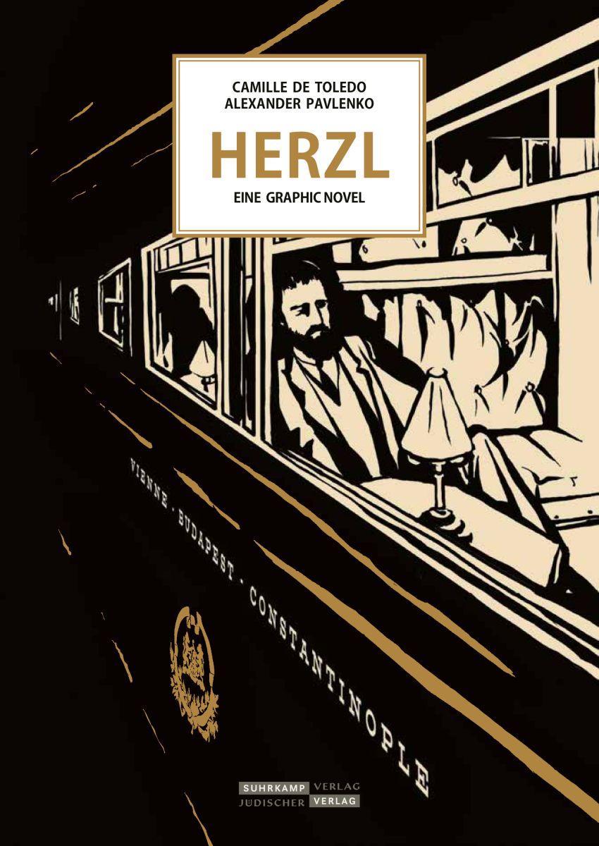 """""""Herzl: Eine europäische Geschichte"""" - Graphic Novel"""