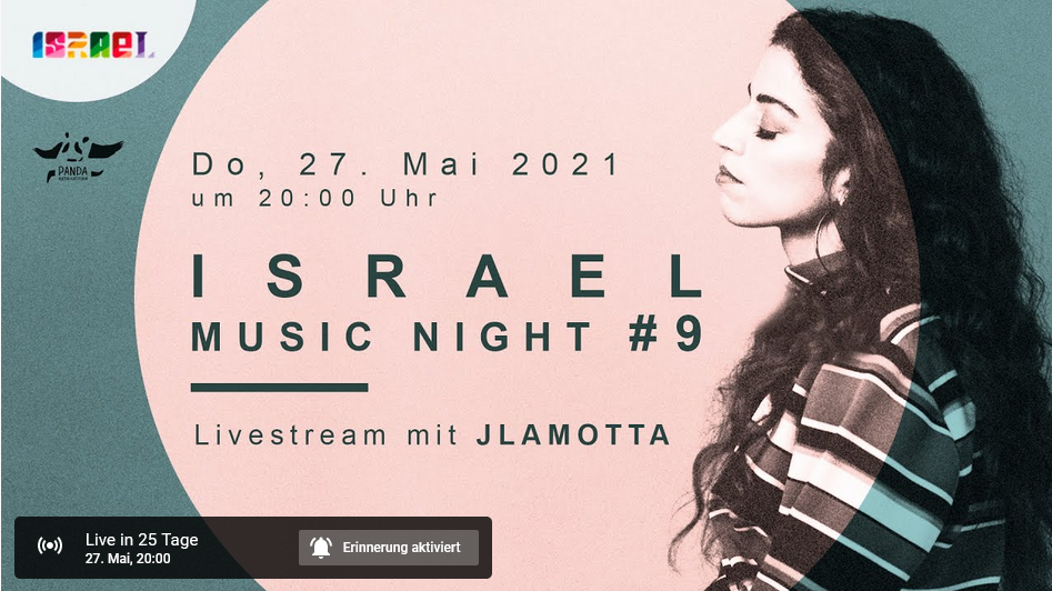 LIVESTREAM - JLamotta - Israel Music Night #9