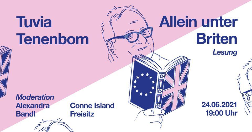 """Tuvia Tenenbom: """"Allein unter Briten"""" — Lesung mit anschließender Diskussion [Open Air]"""