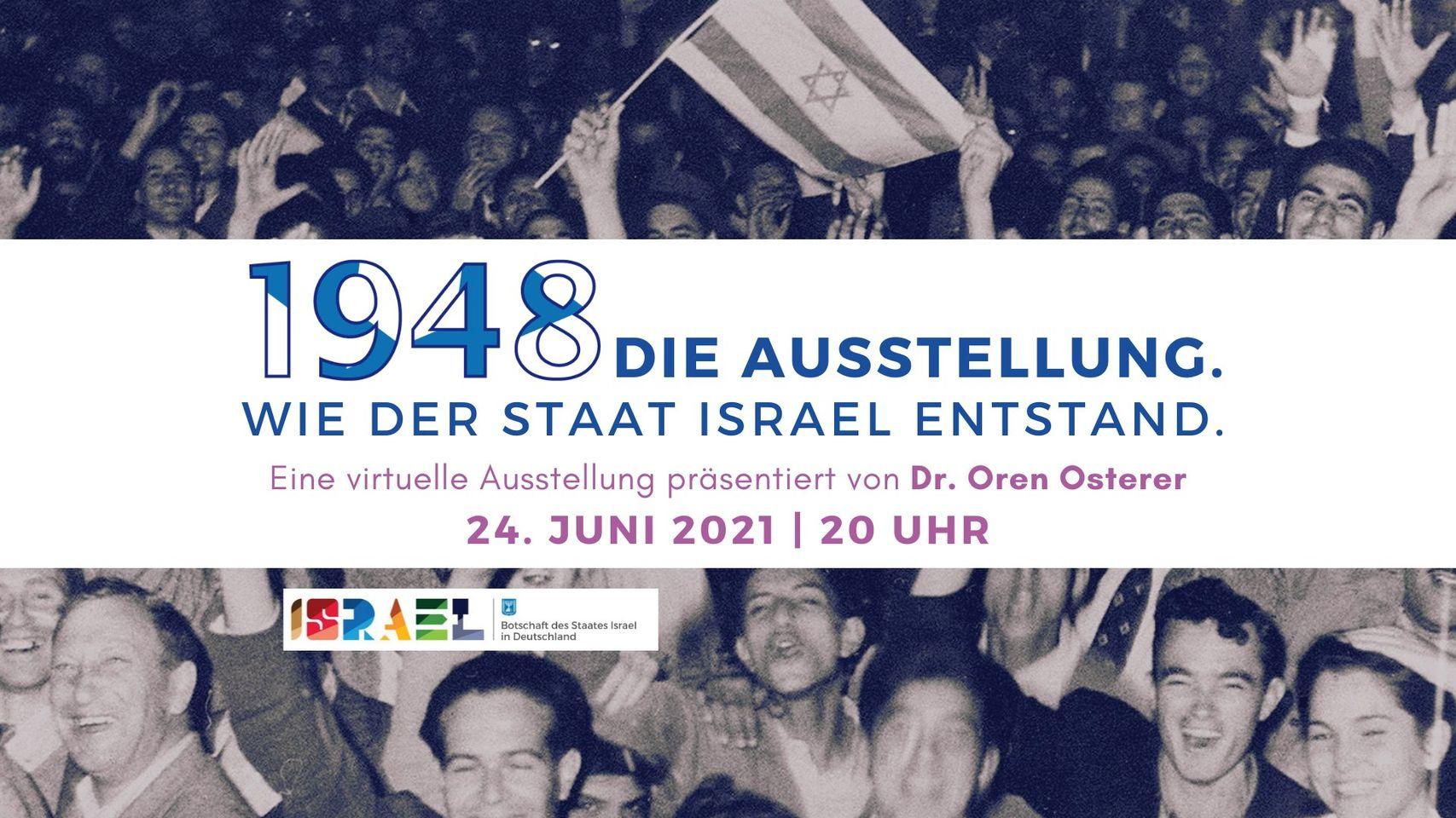 Virtuelle Ausstellung: 1948. Wie der Staat Israel entstand