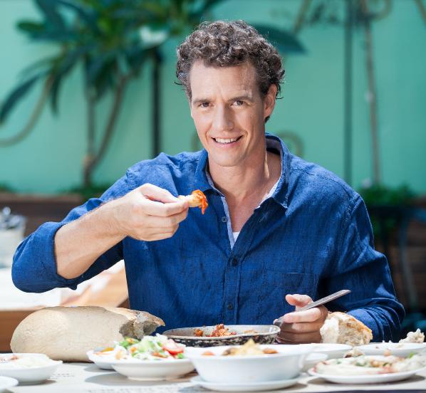 Kocht mit! - Live-cooking historischer Gerichte mit dem deutsch-israelischen Koch Tom Franz