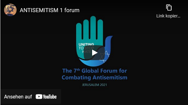 GFCA2021: The 7th Global Format For Combating Antisemitsm 2021