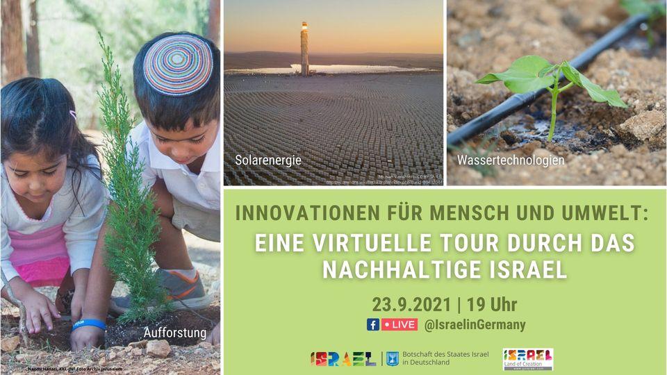 Eine virtuelle Tour durch das nachhaltige Israel