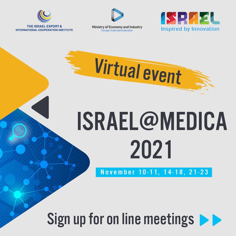 Hybrid Expo: ISRAEL@MEDICA 2021
