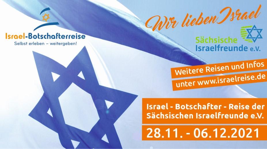Israel- Botschafterreise der Sächsischen Israelfreunde